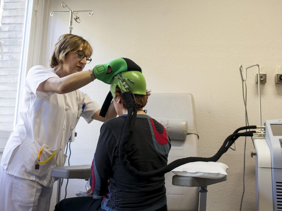 El Hospital Miguel Servet participó en un estudio sobre este sistema de prevención.