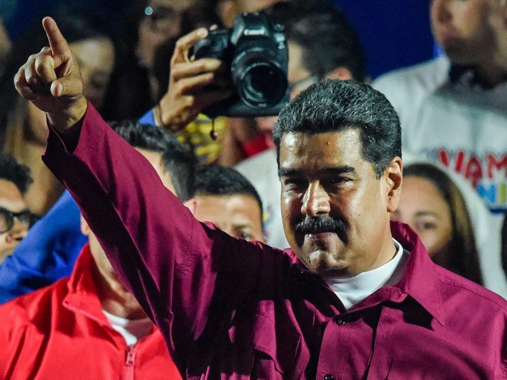 Nicolás Maduro en imagen de archivo.