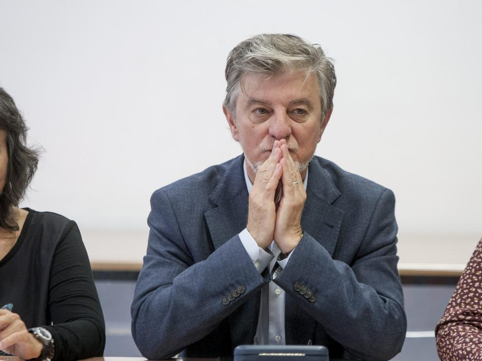 Pedro Santisteve, en un acto público celebrado el pasado mes de septiembre.