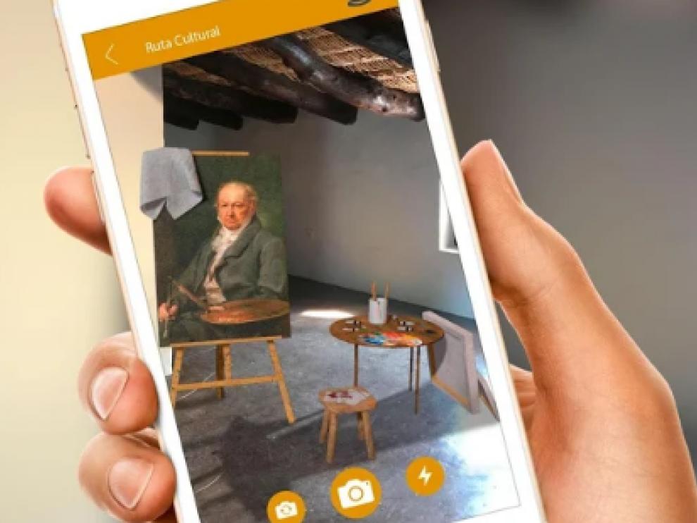 La 'app' sirve como guía de la localidad a través de la interacción y la realidad aumentada.