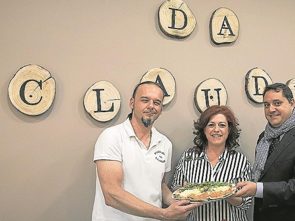 Claudio Testa, Susana Dolado y Javier Cuevas.