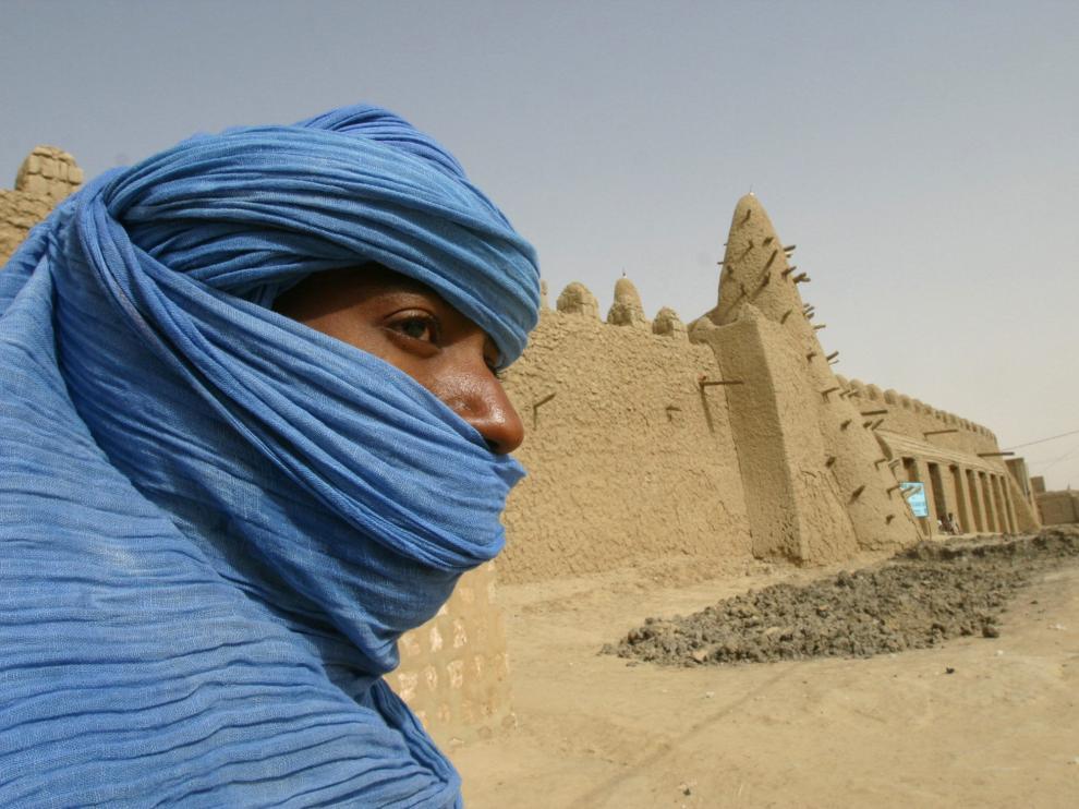 Los tuaregs, los hombres azules del desierto.