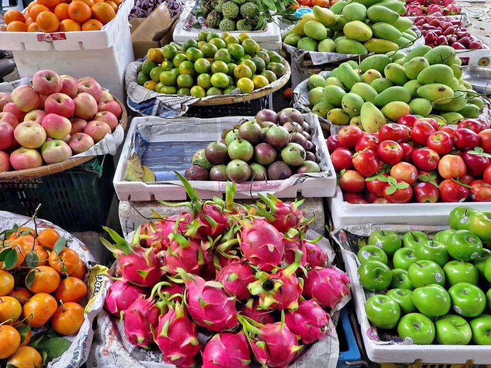 Las frutas y verduras son alimentos muy saciantes.