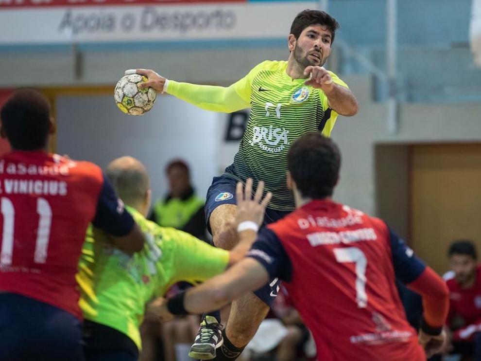 Joao Pablo Pinto, en una foto en su anterior equipo, el Madeira.