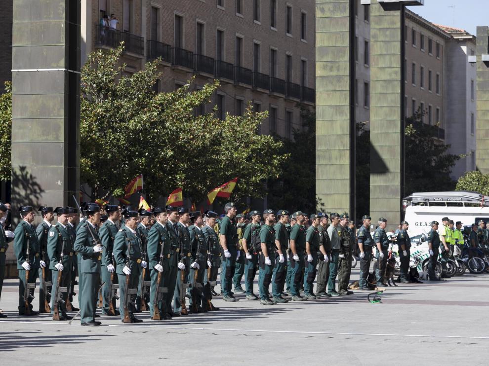 El agente pertenece a la Comandancia de la Guardia Civil de Zaragoza.