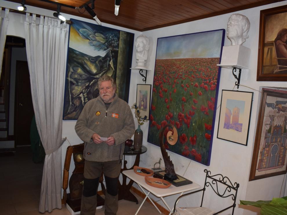 Lacoma, en su casa de Perarrúa.