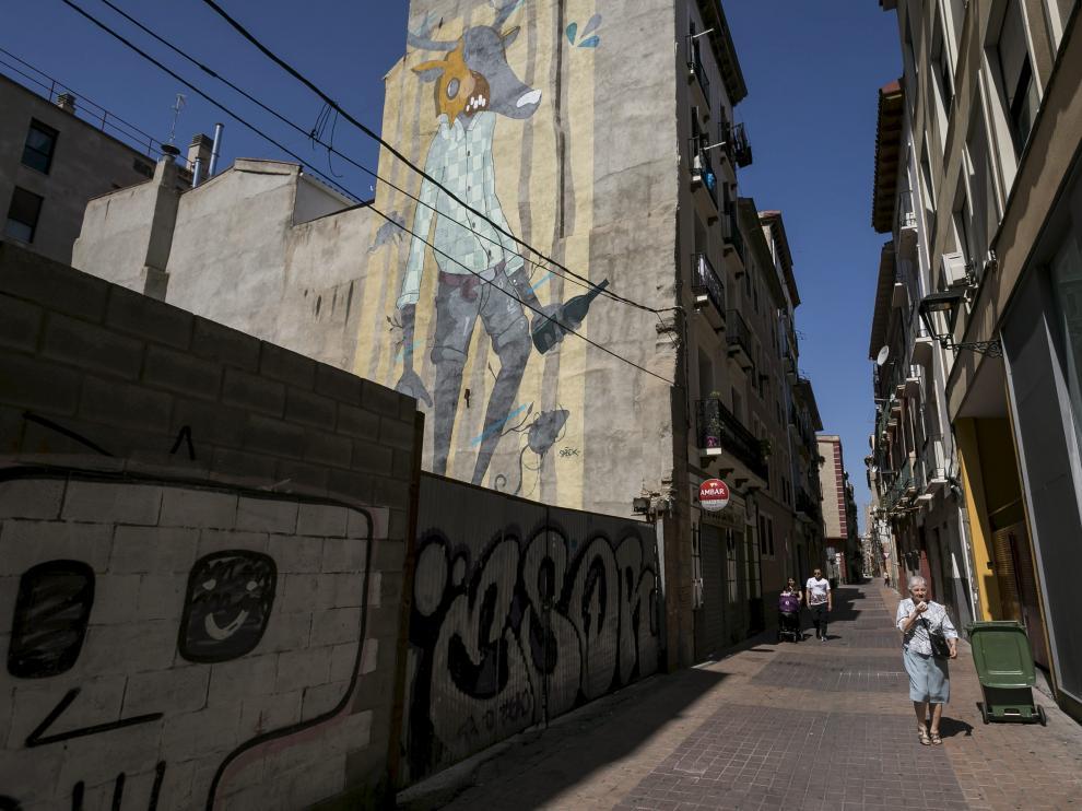 Las obras van a afectar, entre otras, a la calle de Las Armas.