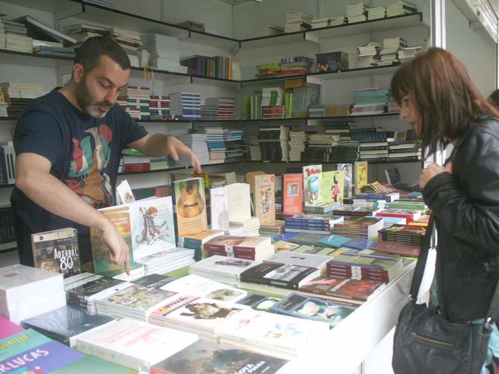 Libros aragoneses en Madrid.