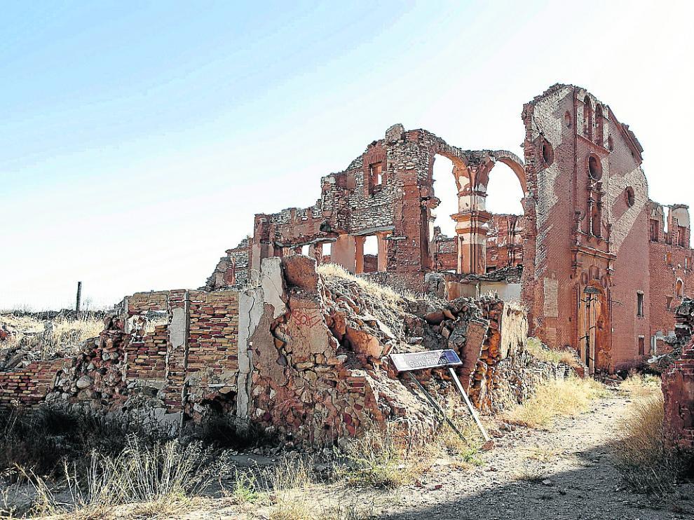 El antiguo convento de San Rafael presenta un evidente estado de deterioro.