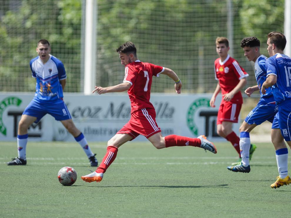 Fútbol. Liga Nacional Juvenil- Valdefierro vs. San Gregorio