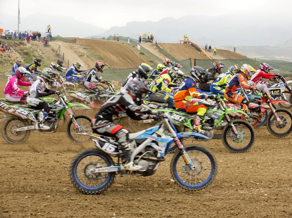 Calatayud pone el broche al Nacional de motocross