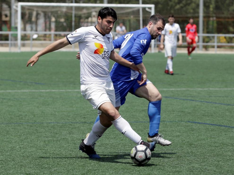 Imagen de archivo del Andorra jugando ante el San José.