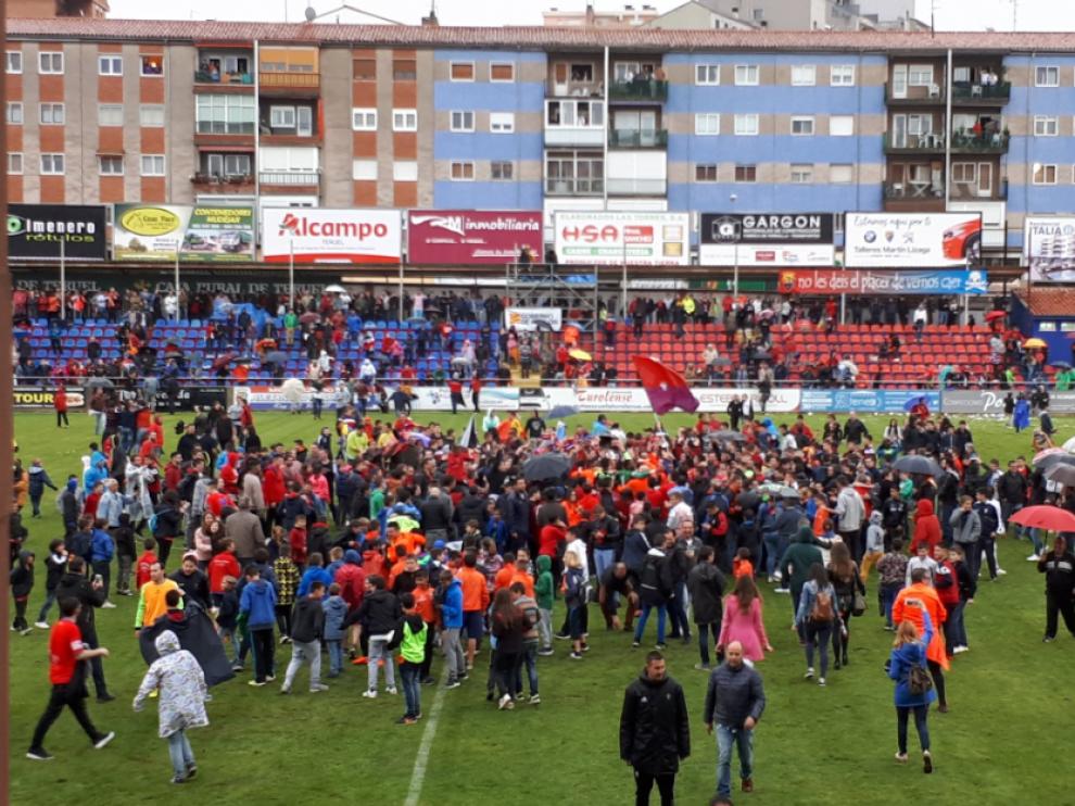 El Teruel logra el ascenso a Segunda B.
