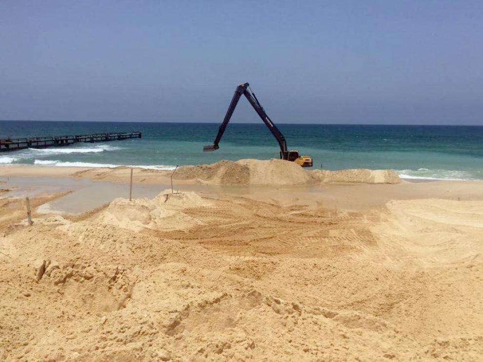 Israel comienza la construcción de una barrera submarina con Gaza