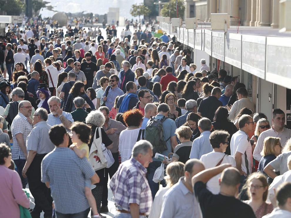 La Feria duró el año pasado cinco días y atrajo numeroso público