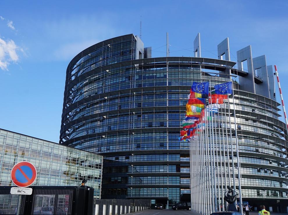 Sede de la Unión Europea en Bruselas.