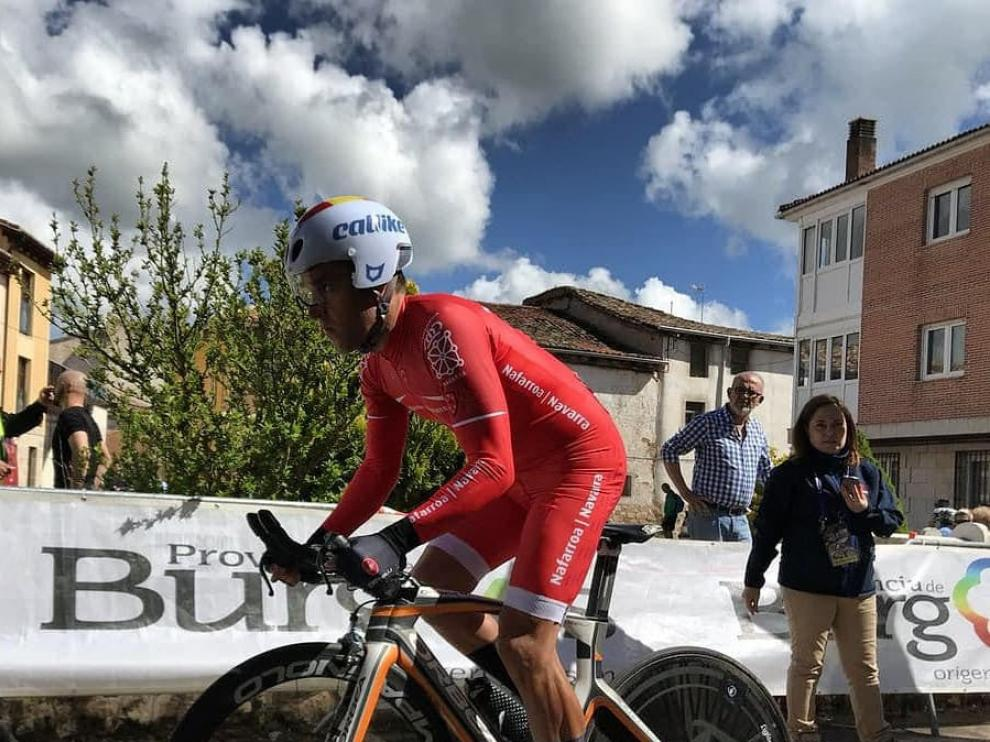 Eduardo Santas, ciclista paralímpico.