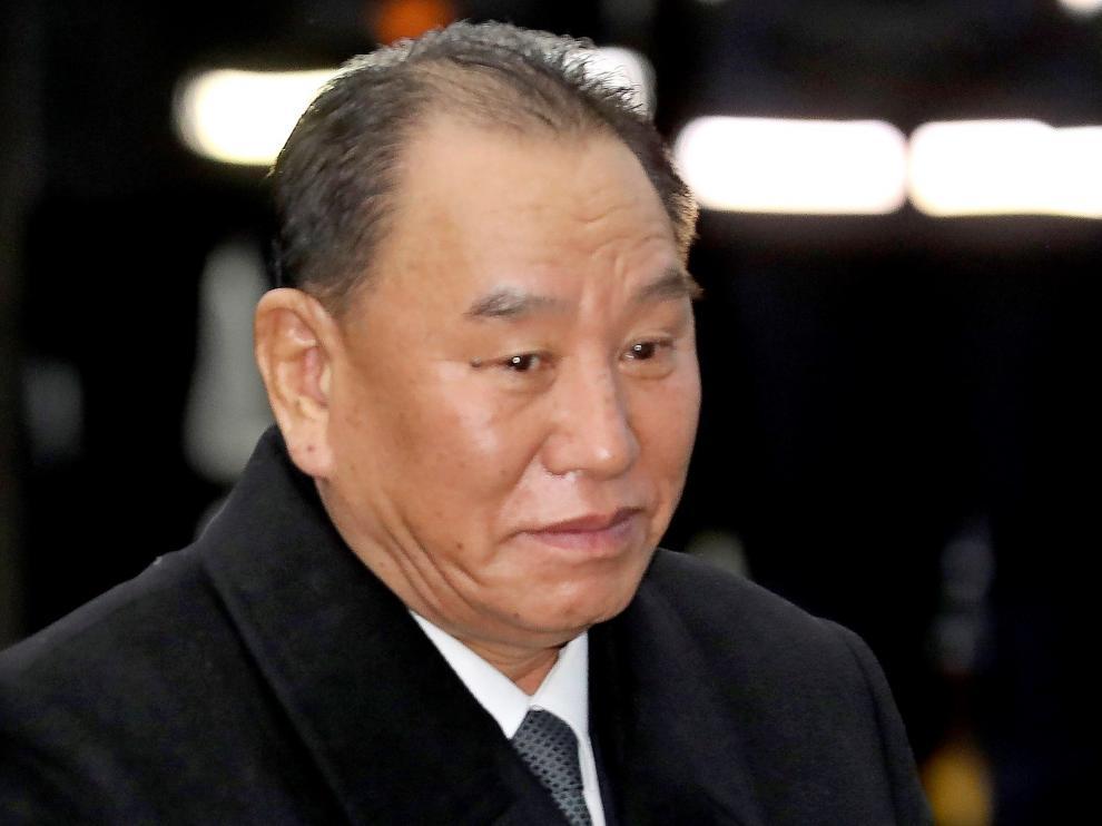 Kim Yong-chol, uno de los altos cargos del régimen norcoreano.