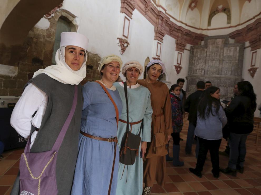Celebración del Día de Montearagón del año pasado en el castillo