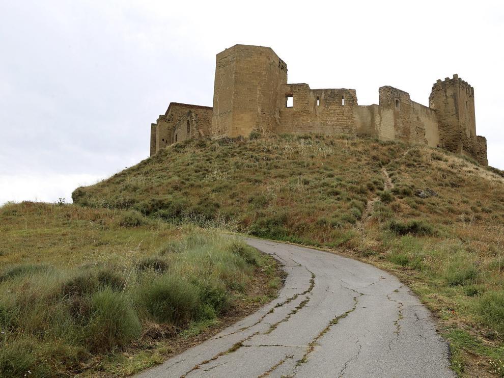 Imagen de archivo del castillo de Montearagón.
