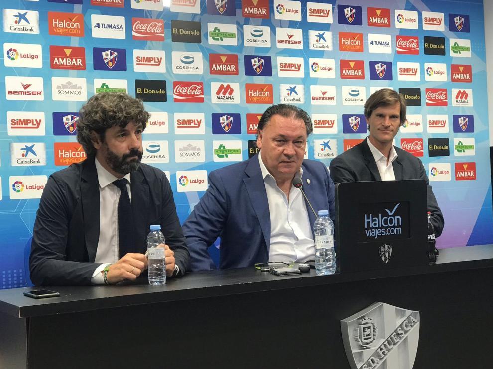 Leo Franco, en la presentación como nuevo entrenador.