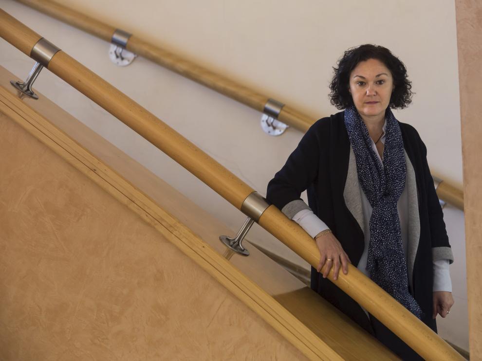 María Pilar Gómez, directora general de Sostenibilidad del Gobierno de Aragón.