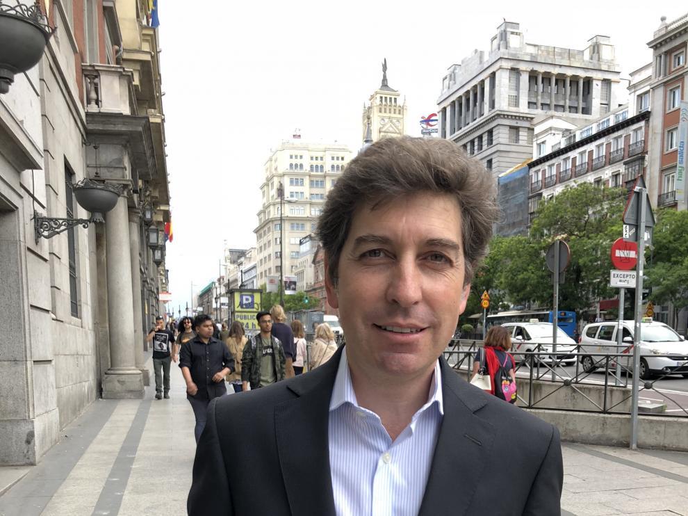 Rogelio Alonso, hace unos días en Madrid.