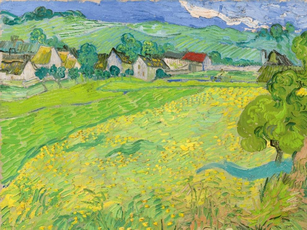 Los prados pintados por Van Gogh