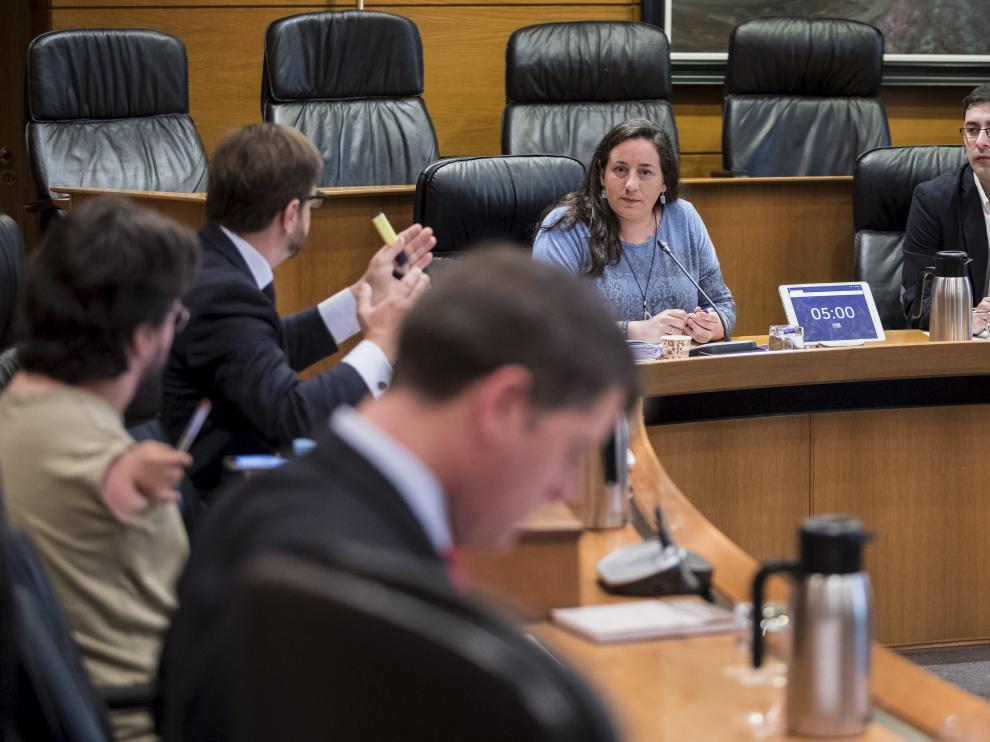 Imagen de archivo de la comisión de depuración de las Cortes