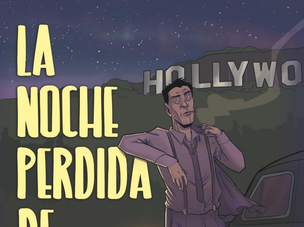 Ilustraciones del cómic de Luis Buñuel