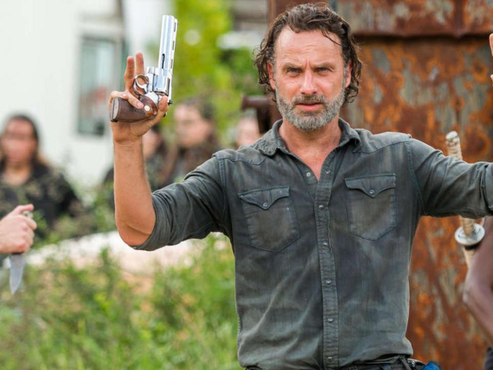 Rick, el aguerrido protagonista de 'The Walking Dead'.