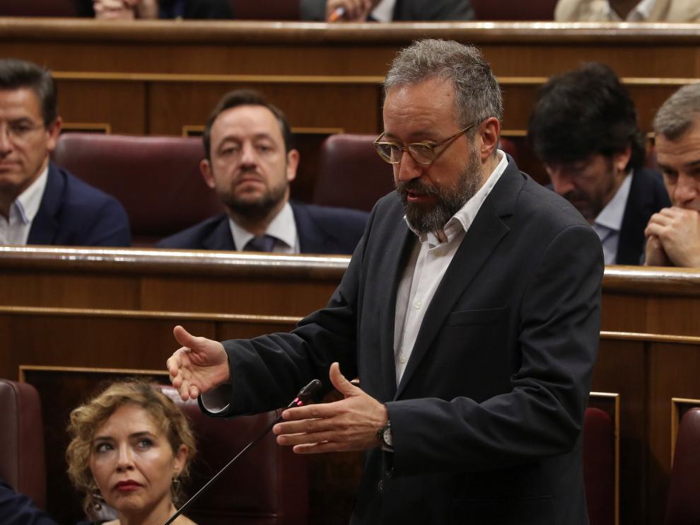 Juan Carlos Girauta, portavoz parlamentario de Ciudadanos.