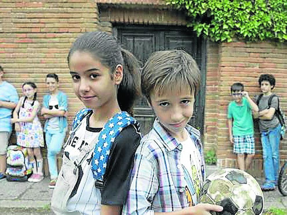Los niños son los protagonistas de 'Los Futbolísimos'.