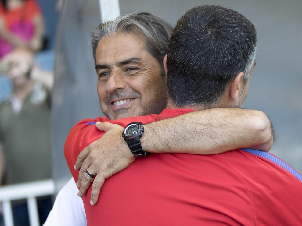 Natxo González, muy feliz tras el triunfo conquistado en Barcelona.