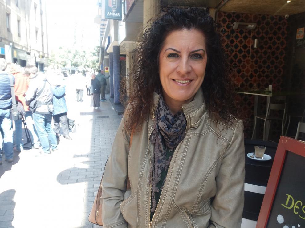 La zaragozana Belén Soria es perito calígrafo desde hace una década y aplica sus conocimientos en grafología a la interpretación del dibujo infantil.