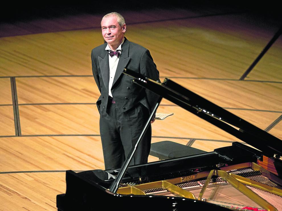 Ivo Pogorelich vuelve hoy a tocar el piano en la sala Mozart. Su último concierto en Zaragoza fue en marzo de 2016.
