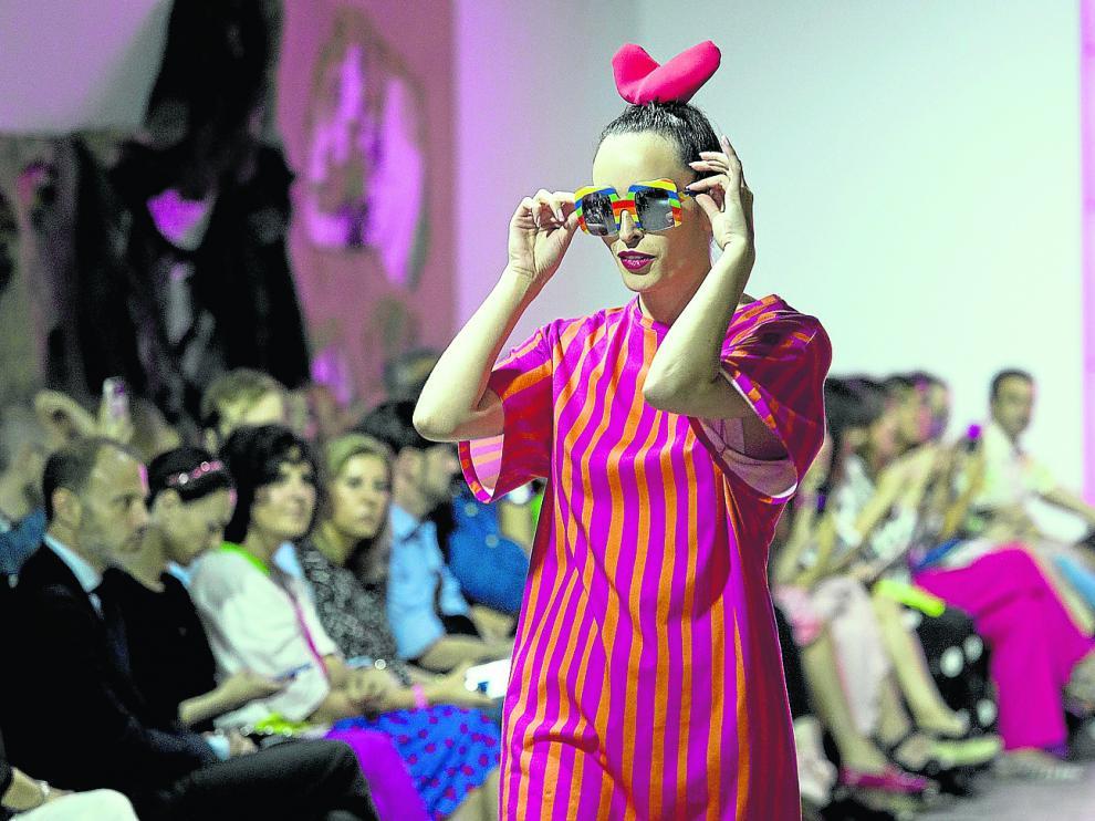 Ágatha Ruiz de la Prada puso el broche final a la Aragón Fashion Week.