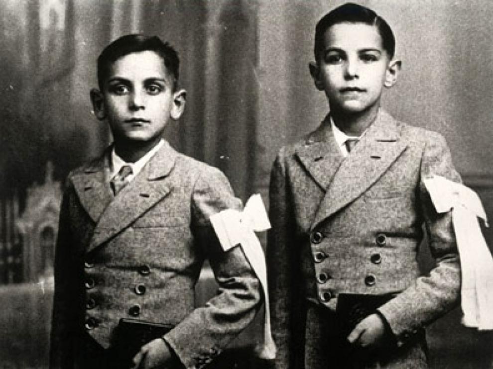 Los hermanos Saura. Carlos y Antonio.