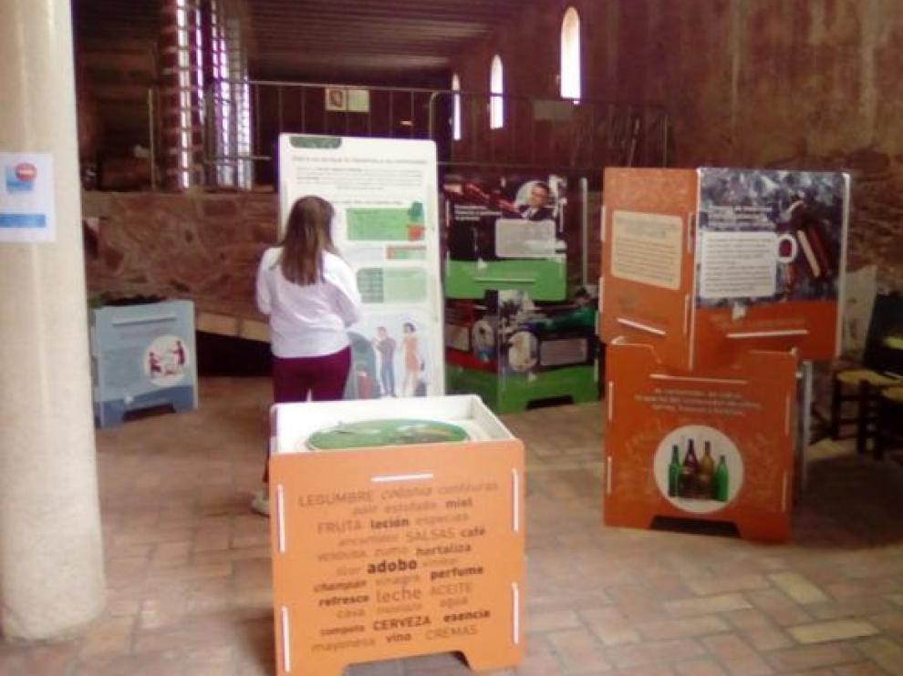La exposición se puede ver hasta el 10 de junio en el convento de Gotor.