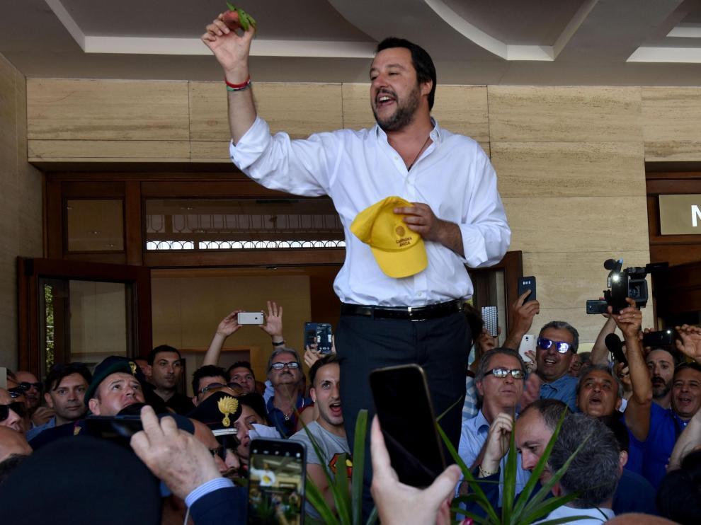 Matteo Salvini, el líder de la ultraderechista Liga y nuevo ministro del Interior italiano