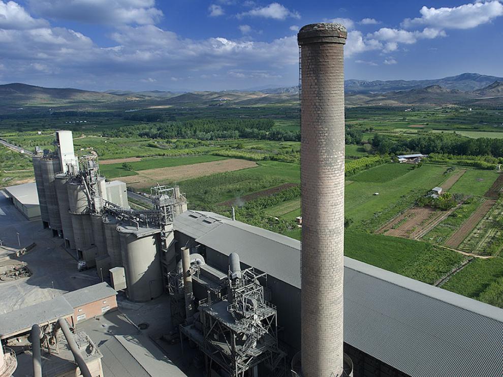 Una planta de Cemex, empresa dedicada a la industria de la construcción.