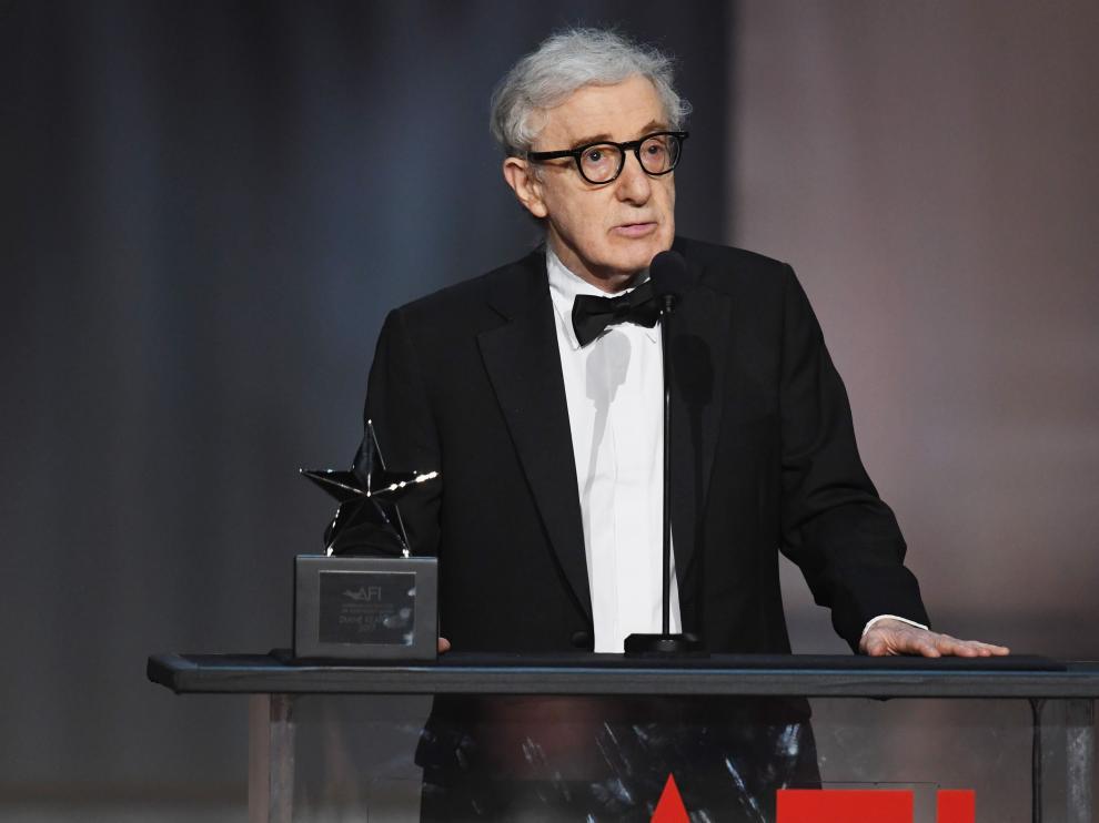 Woody Allen en imagen de archivo.