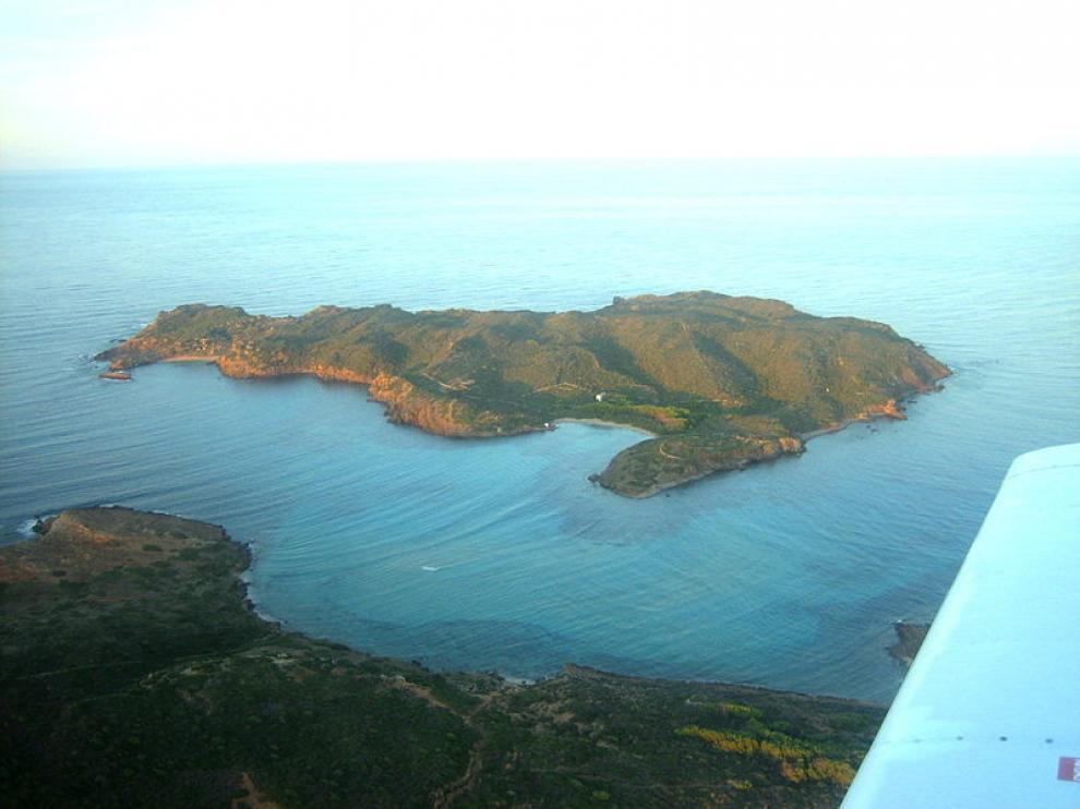 Isla de Colom, cerca de Menorca.