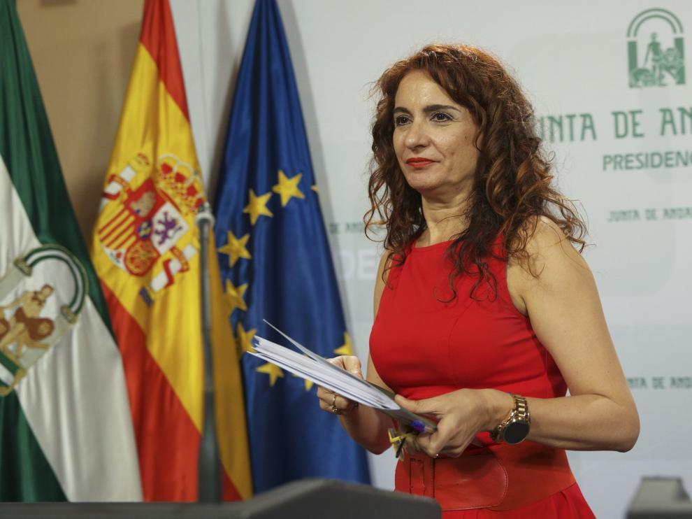 Foto de archivo de la nueva ministra de Hacienda, María Jesús Montero