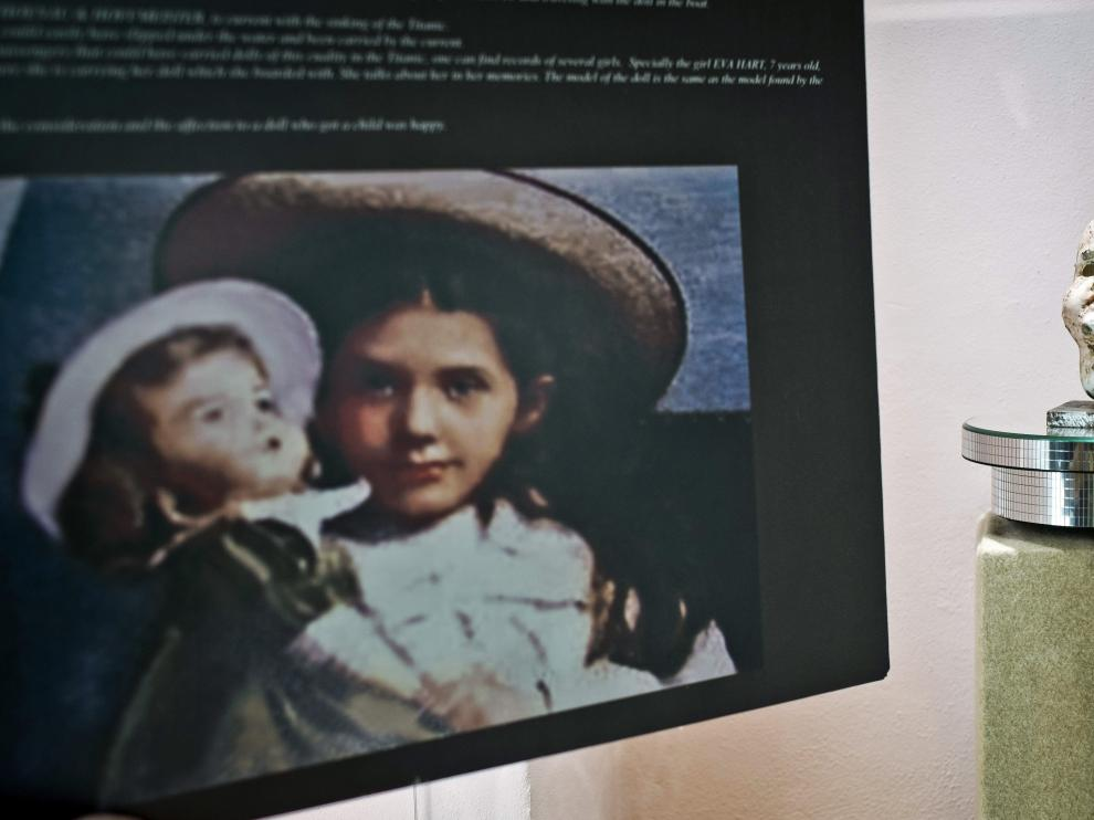 La cabeza de la muñeca de porcelana de Eva Hart ha sido vendida a un comprador anónimo por 6.500 euros.