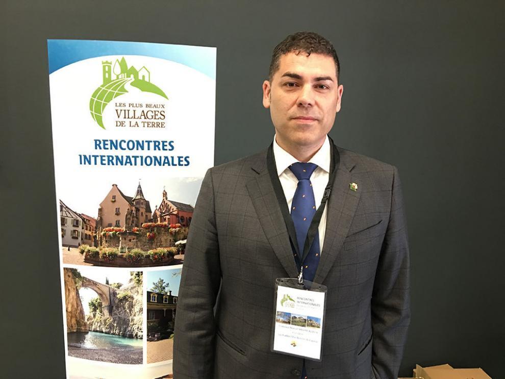 Francisco Mestre, presidente de la Asociación de los Pueblos Más Bonitos de España