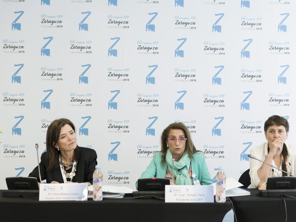 Congreso de la Asociación Española de Pediatría en Zaragoza.