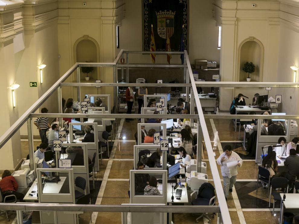 Centro en San Pedro Nolasco de Zaragoza para la elaboración de la declaración de la renta