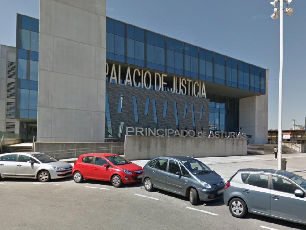 Palacio de la Justicia de Asturias.