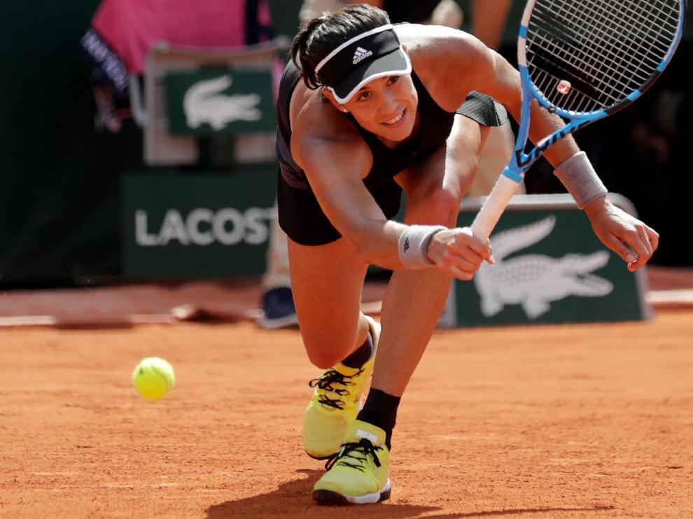 Garbiñe Muguruza cae en semifinales de Roland Garros